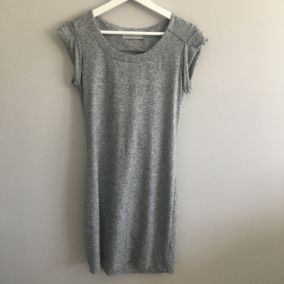 Athleta Dresses & Skirts - Athleta Gray Dress With Back Cut Out #401